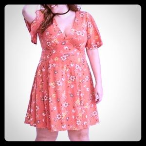 Torrid floral Dress NWT